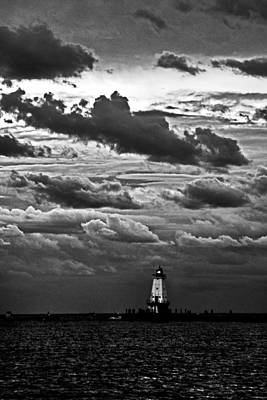 Beacon In The Clouds Art Print by Randall  Cogle