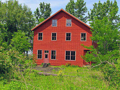 Photograph - Beacon Red House by RobLew Photography