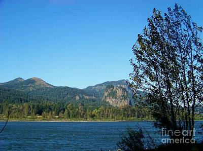 Bonneville Nationals Photograph - Beacon Rock by Charles Robinson