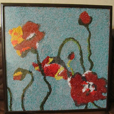 Not Made With Hands Jewelry - Beads Painting by Nabeela Hafeez
