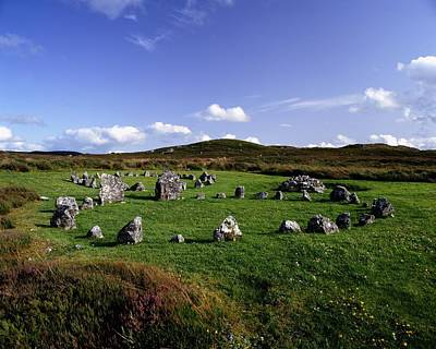 Western Bronze Photograph - Beaghmore Stone Circles, Co. Tyrone by The Irish Image Collection