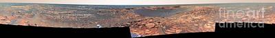 Beagle Crater, Mars Art Print