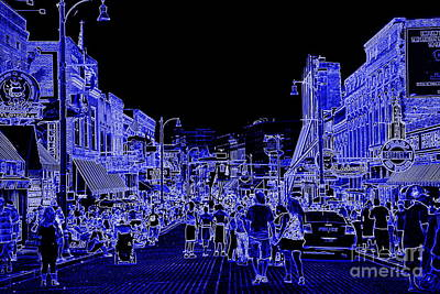 Photograph - Beale Street Blues by Carol Groenen