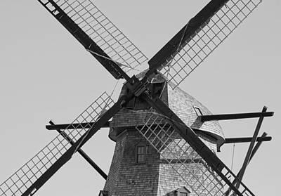 Fox River Mills Photograph - Beams by Jenny Hudson