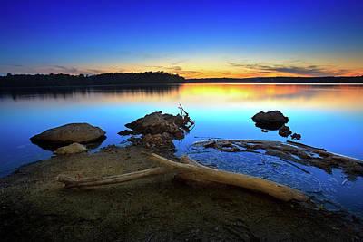 Photograph - Bear Creek Sunset by Steven Llorca