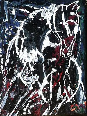 Painting - Bearback by Cody Williamson