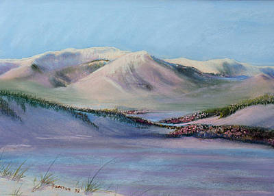 Painting - Beartooth In Sunset by Judy Fischer Walton