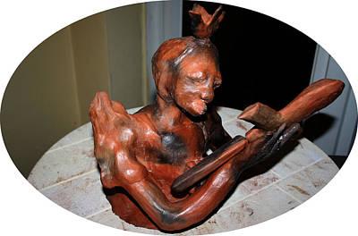 Sculpture - Beatrice by Gloria Ssali