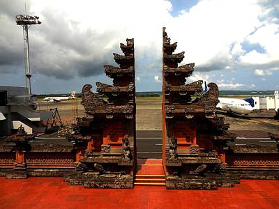 Photograph - Beautiful Bali Airport by Xafira Mendonsa