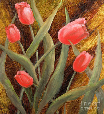 Painting - Beautiful Beginnings by Vic  Mastis