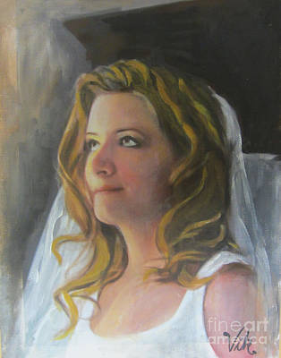 Painting - Beautiful Bride by Lyn Vic