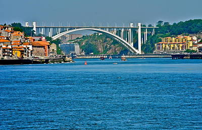 Photograph - Beautiful Bridge In Porto by Kirsten Giving