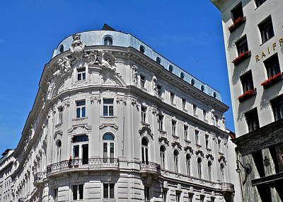 Photograph - Beautiful Classic Viennese Building by Kirsten Giving