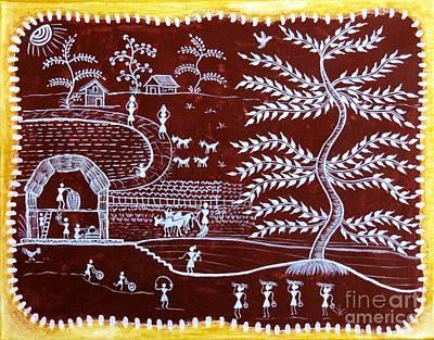 Painting - Beautiful Country  by Anjali Vaidya