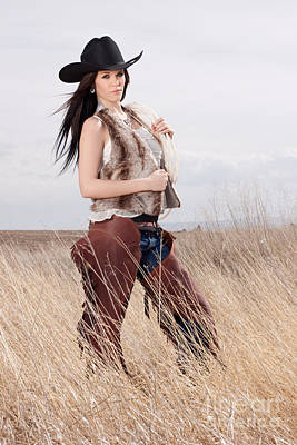 Photograph - Beautiful Cowgirl by Cindy Singleton
