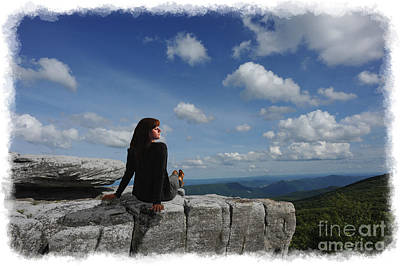 Photograph - Beautiful Day And Woman by Dan Friend