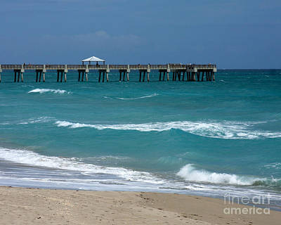Photograph - Beautiful Day At The Beach by Sabrina L Ryan