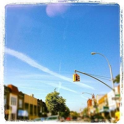 Iphone 4s Photograph - #beautiful Day In New York City by Yiddy W