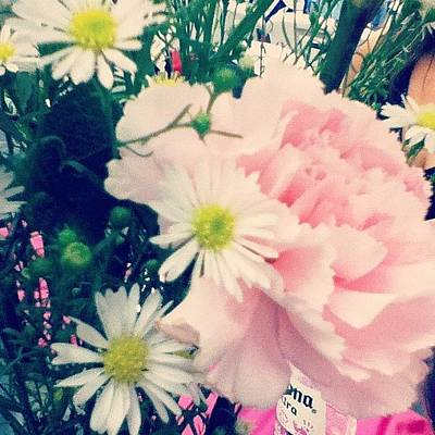 Bouquet Wall Art - Photograph - #beautiful #flower #instanature by Brookiee 