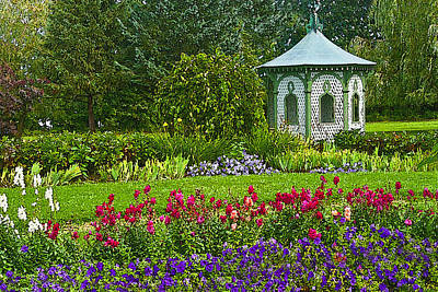 Art Print featuring the photograph Beautiful Garden by Cindy Haggerty