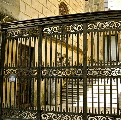 Photograph - Beautiful Gate In Arles by Kirsten Giving