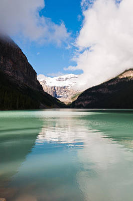 Art Print featuring the photograph Beautiful Lake Louise by Cheryl Baxter
