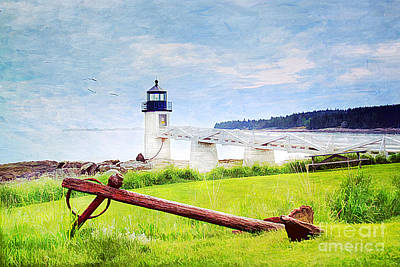 Beautiful Maine Art Print by Darren Fisher