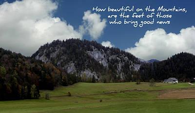 Beautiful Mountains Art Print