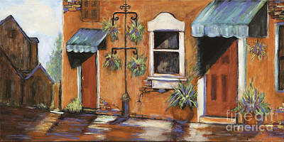 Painting - Beautiful Old Town Alley by Pati Pelz