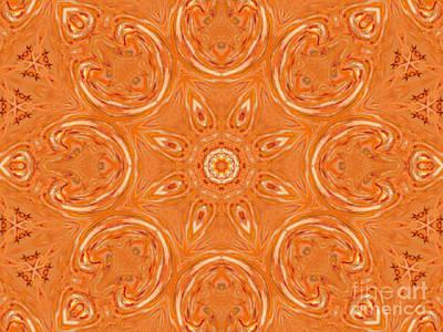 Beautiful Orange Art Print by Jeannie Atwater Jordan Allen