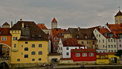 Photograph - Beautiful Regensburg by Kirsten Giving