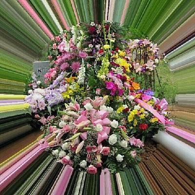 Bouquet Photograph - Beautiful Send-off by Jedi Fuser