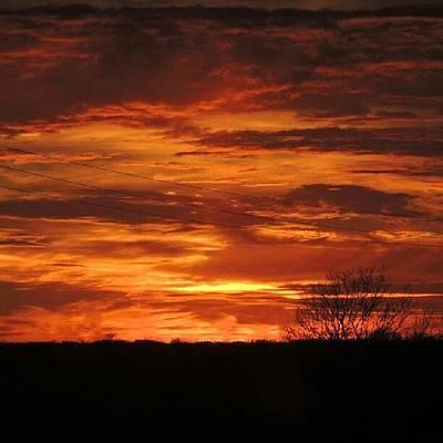 Sundown Wall Art - Photograph - Beautiful Sky by Kelli Stowe