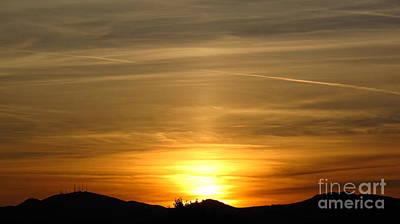 Photograph - Beautiful Sunset 6.  2012 by Phyllis Kaltenbach