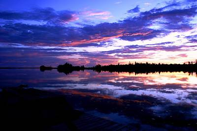 Photograph - Beautiful Sunset by Luis and Paula Lopez