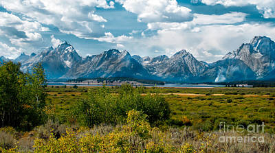 Photograph - Beautiful Tetons by Robert Bales