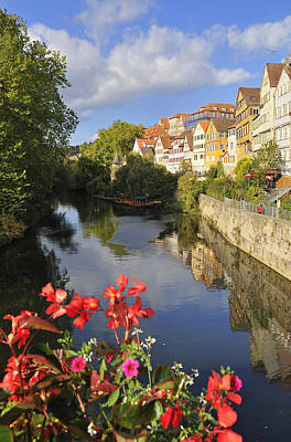 Beautiful Tuebingen In Germany Art Print