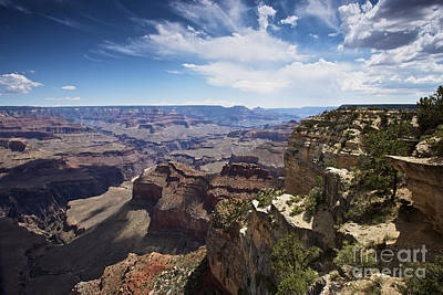Beautiful Vista Of Grand Canyon Art Print by Terry Moore