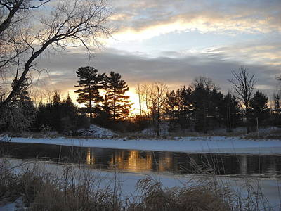 Photograph - Beautiful Winter Dawn by Kent Lorentzen