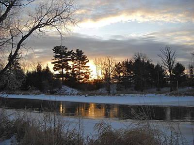 Photograph - Beautiful Winter Dawn by Kent Lorentzen