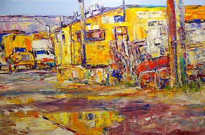 Ballard Painting - Beauty Alley 2 by Beth Betker