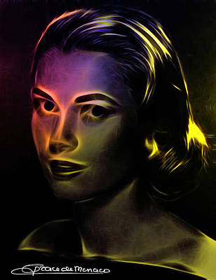 Grace Kelly Painting - Beauty Forever by Steve K