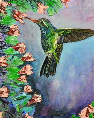 Melissa Torres Painting - Beauty In Flight by Melissa Torres