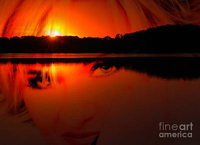 Art Print featuring the photograph Beauty Looks Back by Clayton Bruster