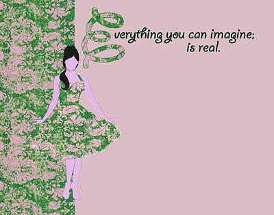 Beauty Notecard Art Print by Dana Vogel