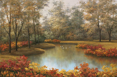 Beauty Of Autumn Art Print