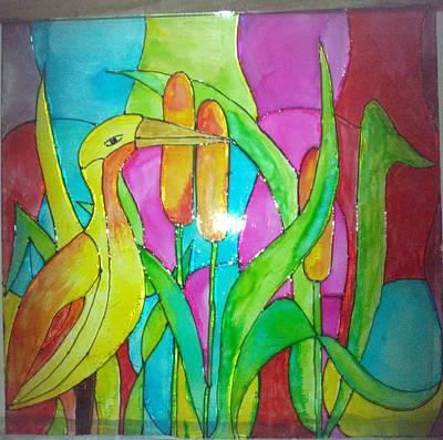 Beauty Of Nature I Art Print by Mahboobdeen Fathima sameera farwin