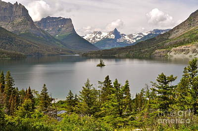 Photograph - Beauty Of St. Mary's Lake by Johanne Peale