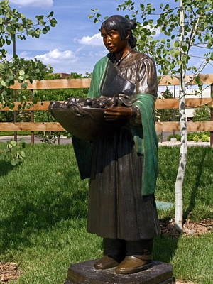 Leanin Tree Photograph - Beauty Of The Harvest by Sally Weigand