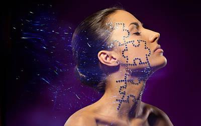 Beauty Puzzles Art Print by Pavlo Kolotenko
